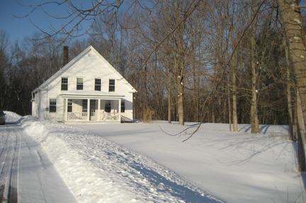 Benson House in March
