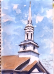 Church steeple, Royalston, MA