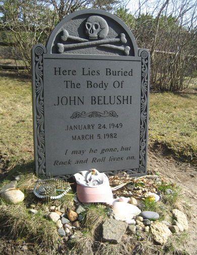 He's buried on Martha's Vineyard. Would you have expected any less?