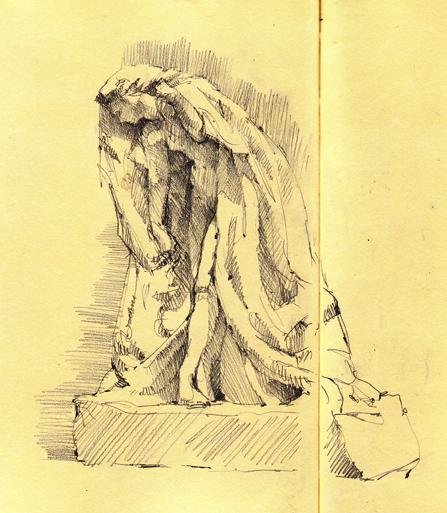 Psyche by Rodin, marble, MFA Boston.