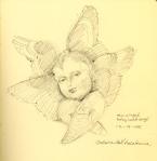 Six winged cherubim, Florence