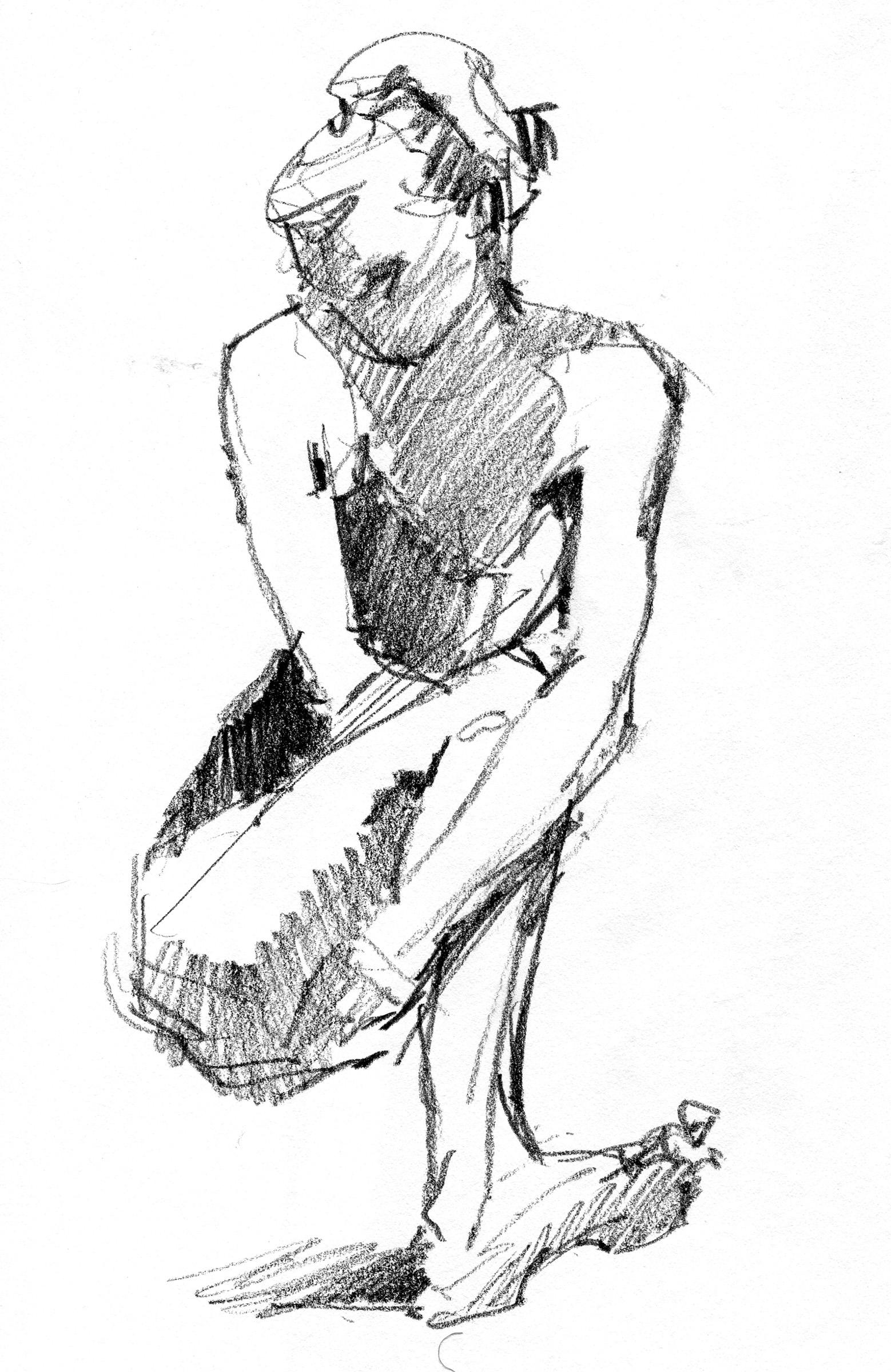 6b pencil in stillman x 11 hardbound sketchbook