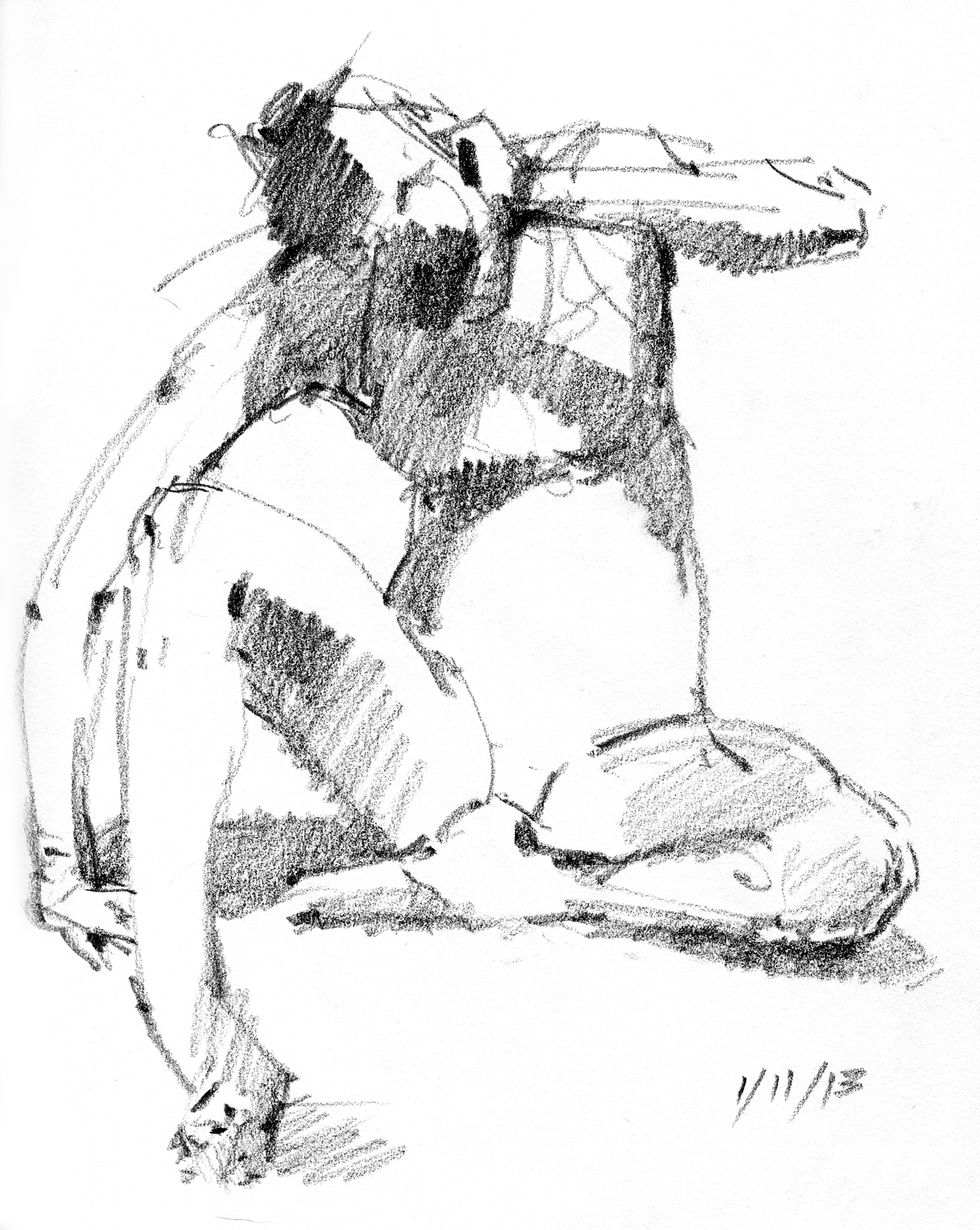 Cat and Mouse: Catch the Gesture in Figure Drawing – Drawing The Motmot