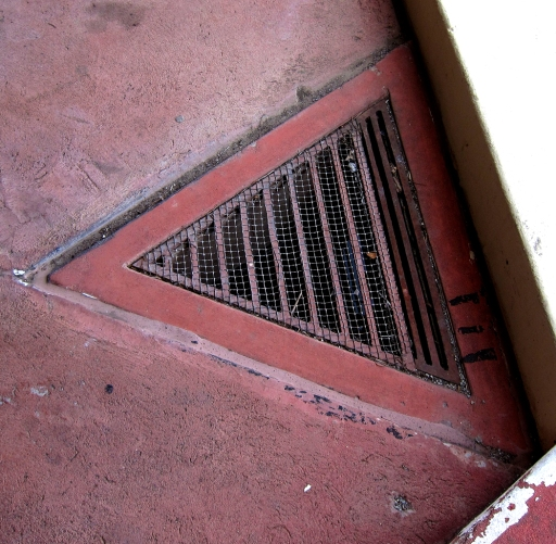 Frank Lloyd Wright storm drain.