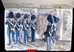 The Danish Royal Army's Fife and Drum Corps, Copenhagen