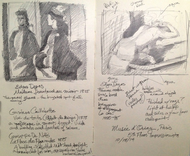 Two Degas masterpieces, dissected on the page.