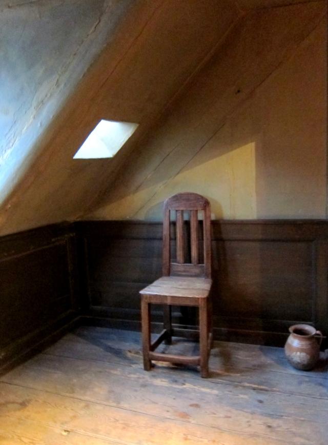 Andersen's room, north end.